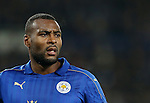 Leicester's Wes Morgan in action during the Champions League group B match at the King Power Stadium, Leicester. Picture date November 22nd, 2016 Pic David Klein/Sportimage
