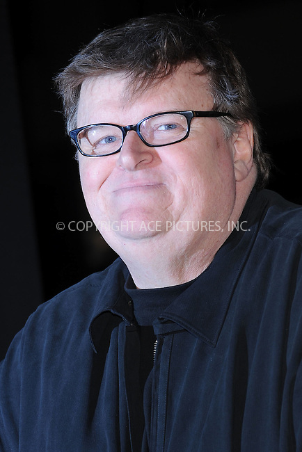 """WWW.ACEPIXS.COM . . . . . .April 18, 2012...New York City....Michael Moore arriving to the Universal Pictures premiere of """"The Five Year Engagement"""" for the opening of the Tribeca Film Festival at the Ziegfeld Theatre on April 18, 2012  in New York City ....Please byline: KRISTIN CALLAHAN - ACEPIXS.COM.. . . . . . ..Ace Pictures, Inc: ..tel: (212) 243 8787 or (646) 769 0430..e-mail: info@acepixs.com..web: http://www.acepixs.com ."""