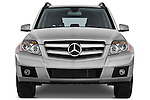 Straight front view of a 2010 Mercedes GLK Class 350