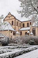 Europe/Allemagne/Bade-Würrtemberg/Forêt Noire/ Gengenbach: L'Abbaye de  Gengenbach