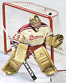 Peter Mannino - The Ferris State Bulldogs defeated the University of Denver Pioneers 3-2 in the Denver Cup consolation game on Saturday, December 31, 2005, at Magness Arena in Denver, Colorado.