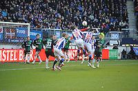 VOETBAL: HEERENVEEN: Abe Lenstra Stadion, 23-02-2015, Eredivisie, sc Heerenveen - FC Groningen, Eindstand: 3-1, ©foto Martin de Jong