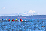 Port Townsend, Bogaciel, Frank C, Riverside, Rat Island Regatta, rowers, racing, Sound Rowers, Rat Island Rowing Club, Quads, Puget Sound, Olympic Peninsula, Washington State, water sports, rowing, competition,