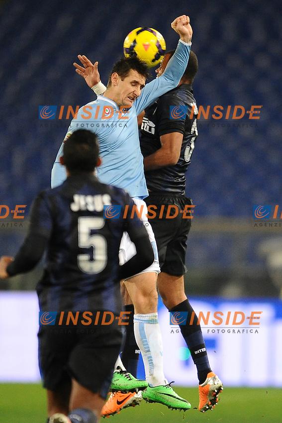 Miroslav Klose Lazio.<br /> Roma 06-01-2014 Stadio Olimpico. Football Calcio 2013/2014 Serie A. Lazio - Inter. Foto Antonietta Baldassarre / Insidefoto