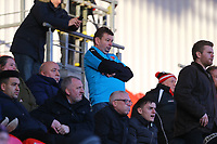 Fleetwood Town fans  during the Sky Bet League 1 match between Doncaster Rovers and Fleetwood Town at the Keepmoat Stadium, Doncaster, England on 17 February 2018. Photo by Leila Coker / PRiME Media Images.