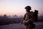 "Mcc0027461 . Daily Telegraph..A Company, 3 Para on patrol in the town of Showal which was taken in a much lauded offensive in February of this year. On this occasion a patrol of paratroopers was escorting two female civilian analysts from the U.S Department of Defence who are collecting data on the civilian population in Helmand, a process known as ""Human Terrain Mapping "" in the hope the data will help to combat the insurgency and cater for the localised needs of the people....Helmand 30 November 2010"