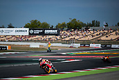 June 10th 2017,  Barcelona Circuit, Montmelo, Catalunya, Spain; MotoGP Grand Prix of Catalunya, qualifying day; Marc Marquez of Repsol Honda Team testing the new chicane of the circuit