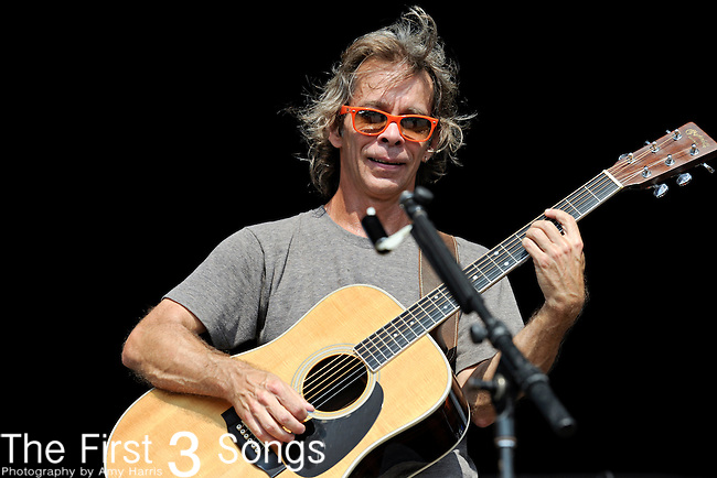 Tim Reynolds of Dave and Tim performs during day two of the Dave Matthews Band Caravan at Lakeside on July 9, 2011 in Chicago, Illinois.