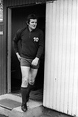 23.03.1971 Goalie Tommy Lawrence (Liverpool) during Europacup Training, Liverpool
