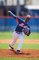 New York Mets pitcher Daison Acosta (22) during an Instructional League game against the Miami Marlins on September 29, 2016 at the Port St. Lucie Training Complex in Port St. Lucie, Florida.  (Mike Janes/Four Seam Images)