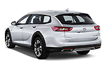 Car pictures of rear three quarter view of a 2018 Opel Insignia Country Tourer Exclusive 5 Door Wagon angular rear