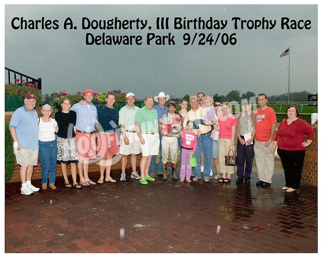 Kennebunkport winning at Delaware Park on 9/24/2006