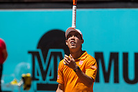 Madrid Open tennis in Madrid. Kei Nishikori - Diego Schwartzman