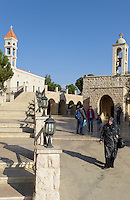 LEBANON Deir el Ahmad, village Bechwat, church Our Lady of Bechwat, a pilgrimage site for christians and muslims / LIBANON Deir el Ahmad, Bechwat, Christen und Muslime pilgern zur Kirche in Erwartung von Wundern