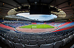 Queens Park and Rangers playing at Hampden