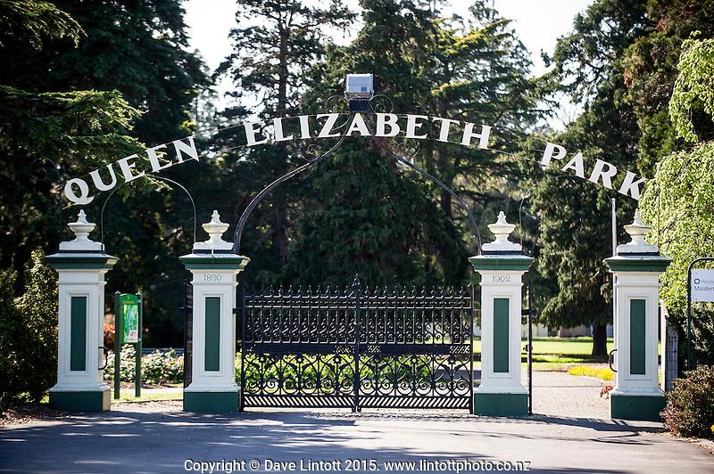Queen Elizabeth Park. Masterton District Council photoshoot. Masterton, Wairarapa, New Zealand on Thursday, 15 October 2015. Photo: Dave Lintott / lintottphoto.co.nz