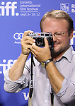 Director Rian Johnson attending the The 2012 Toronto International Film Festival Photo Call for 'Looper' at the TIFF Bell Lightbox in Toronto on 9/6/2012