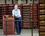© Joel Goodman - 07973 332324 . 22/07/2016 . Bolton , UK . Jonathan Warburton in the distribution hub at the Warburtons factory . Picture for business profile feature . Photo credit : Joel Goodman