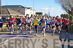 The runners head off at the start of the Puck Warriors Duathlon in Killorglin on Saturday