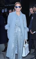 DEC 12 Jennifer Lopez Seen In NYC