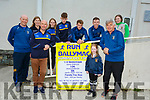 The Ballymac GAA Club launch their 10k and half marathon fundraiser at the Ballymac Community Centre on Saturday. <br /> Front. Mike Brosnan, Coaimhe Leen and Mike Sweeney. <br /> Back l to r: Kevin and Lorna Leen, Laura Sugrue, Darragh Regan, Vinny Horan and Kate Collins.