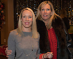 Erin Belosic and Jill Pauley during the Junior League Poinsettia Luncheon at the Atlantis Casino Resort Spa in Reno, Thursday, Dec. 7, 2017.