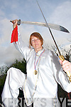 CHAMPION: Gerry Kennedy from Caherciveen who won a gold medal at the Master Liang He Qing International Memorial T'ai Chi Championships in Nottingham last weekend.   Copyright Kerry's Eye 2008