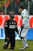Paul Pogba Juventus Marco Marchionni Parma.Calcio Parma vs Juventus.Campionato Serie A - Parma 13/1/2013 Stadio Ennio Tardini.Football Calcio 2012/2013.Foto Federico Tardito Insidefoto