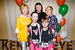 Tara Loughlin Kelly, Kelly, Ann and Denise O'Brien and Clare O'Loughlin from Tralee at the WIDA Irish Dancing Associations championships in the Brandon Hotel on Saturday morning.