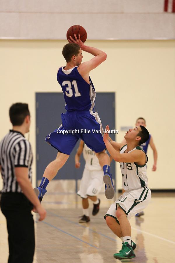 Los Altos High School Boys Basketball<br /> CCS Quarterfinals Game<br /> Feb. 23, 2013<br /> LAHV v. Westmoor<br /> Final Score: 75-66