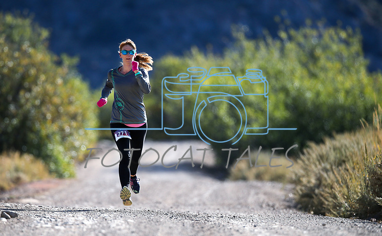 Kathi Hunt competes in the 8th annual Take it to the Lake race at Cave Lake State Park, near Ely, Nev., on Saturday, Sept. 21, 2019.<br /> Photo by Cathleen Allison/Nevada Momentum