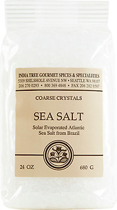 30109 Sea Salt, Chef Pak 24 oz, India Tree Storefront