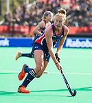ROTTERDAM - Taylor West (USA)   tijdens de Pro League hockeywedstrijd dames, Nederland-USA  (7-1) .)  COPYRIGHT  KOEN SUYK