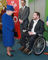 08 March 2016 - London, England - Queen Elizabeth II meets success stories helped by the Prince's Trust at the Prince's Trust Centre in Kennington in London. Photo Credit: Alpha Press/AdMedia