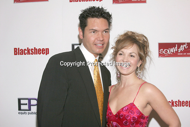 Jeff Morgan &amp; Christina Martin <br />