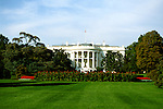 Washington DC: The White House. Photo #: washdc101..Photo copyright Lee Foster, www.fostertravel.com, 510/549-2202, lee@fostertravel.com