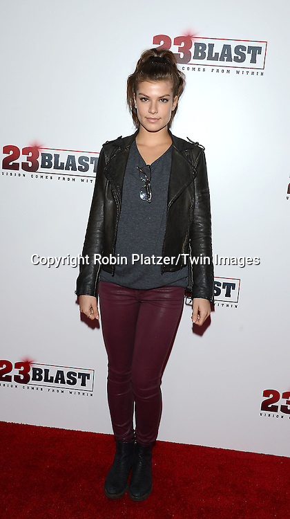 Kelley Missal attends the &quot;23 Blast&quot;  Movie Premiere  on October 20, 2014 at The Regal Cinemas E-Walk Theater in New York City. <br /> <br /> photo by Robin Platzer/Twin Images<br />  <br /> phone number 212-935-0770