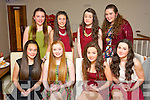 TEEN SCENE: Ballymac friends Mieve O'Connell and Amy Wharton (seated 2nd and 3rd left) had a cool pizza party in La Scala, Tralee last Saturday evening to celebrate their 15th birthdays, also seated are Ashleigh Murphy (far left) and Sarah Gavaghan. Back l-r: Blathnaid O'Connor, Sarah Kilgallen, Jade Smullen and Grace Costello.