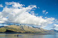 Kayaking Lake Wakatipu