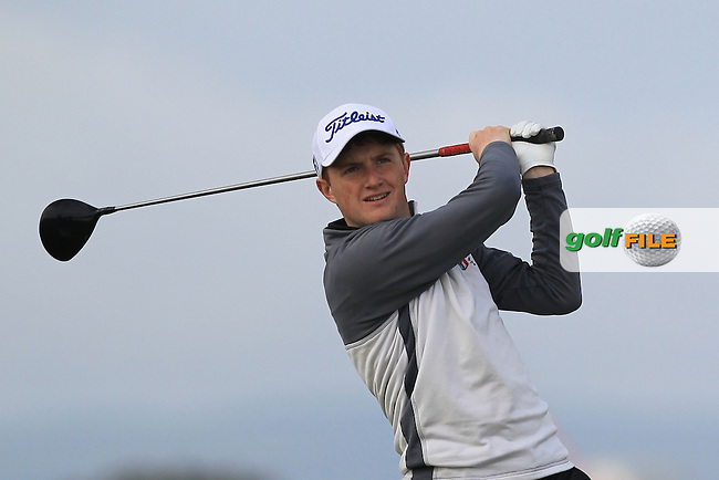 Ronan Mullarney (Galway) on the 3rd tee during Round 1 of the Flogas Irish Amateur Open Championship at Royal Dublin on Thursday 5th May 2016.<br /> Picture:  Thos Caffrey / www.golffile.ie