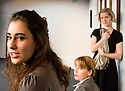 Three Women by Sylvia Plath,directed by Robert Shaw. With Lara Lemon as The Student, Tilly Fortune as The Secretary, Elisabeth Dahl as The Wife.Opens at The Jermyn Street Theatre on  6/1/09. CREDIT Geraint Lewis