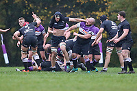 Woodford RFC vs Harpenden RFC, London 1 North Division Rugby Union at Highams on 9th November 2019