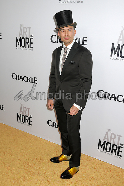 "29 October 2015 - Culver City, California - Michael Reventar. ""The Art Of More"" Series Premiere held at Sony Pictures Studios. Photo Credit: Byron Purvis/AdMedia"