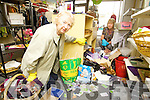 Kathleen Rogers and Mary Kelly, shop managers at the Oxfam shop in Abbey Court, Tralee which was broken in to on Thursday night..