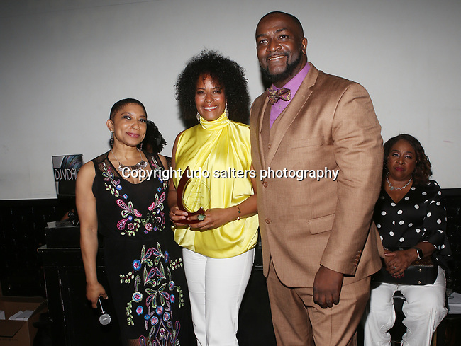 "DJ Jon Quick's 10th Annual Beauty and the Beat Heroines of Excellence Awards Hosted by WBLS' Déjà Vu Honoring Danielle Thomas, Debbie Douglas, Lesleigh Irish-Underwood, Leslie ""Big Lez"" Segar, Maria Clifton aka DJ Ria!, Mashonda, Natalie Naomi Robinson, Scottie Beam , Shaila Scott, Simone Missick, Wendy Credle , and Yvette Noel-Schure.. Held at The VYNL"