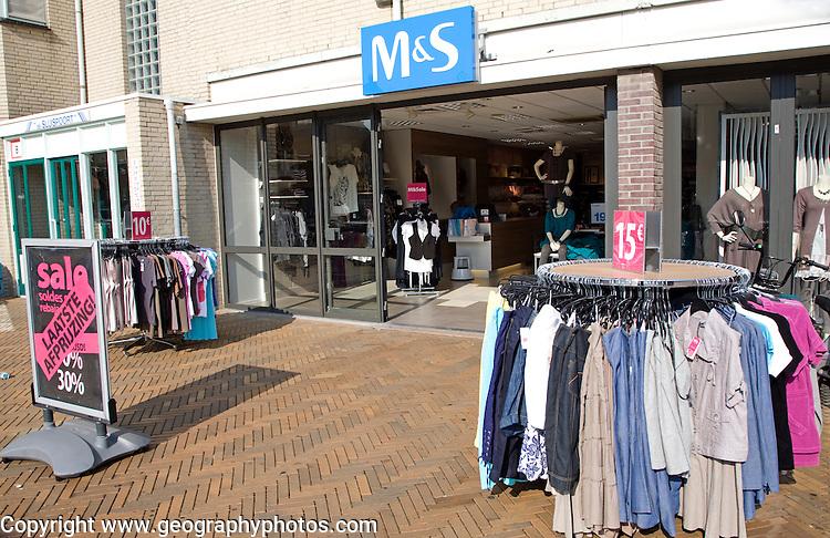M & S clothing shop Katwijk, Holland