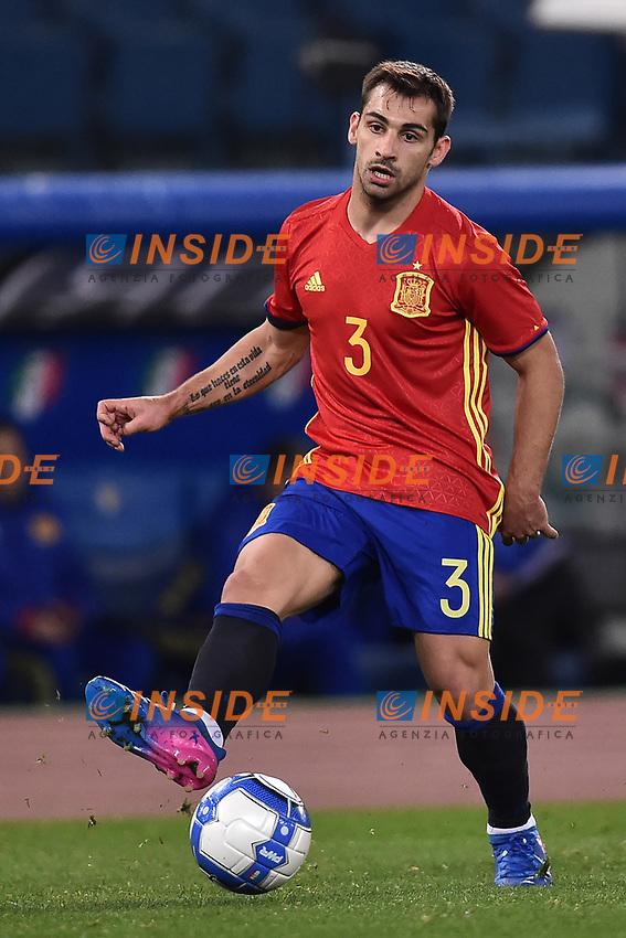 Jonathan Castro Spagna <br /> Roma 27-02-2017, Stadio Olimpico<br /> Football Friendly Match  <br /> Italy - Spain Under 21 Foto Andrea Staccioli Insidefoto