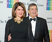 Former White House Chief of Staff (Reagan) Kenneth Duberstein and his wife, Jacqueline, arrive for the formal Artist's Dinner honoring the recipients of the 2014 Kennedy Center Honors hosted by United States Secretary of State John F. Kerry at the U.S. Department of State in Washington, D.C. on Saturday, December 6, 2014. The 2014 honorees are: singer Al Green, actor and filmmaker Tom Hanks, ballerina Patricia McBride, singer-songwriter Sting, and comedienne Lily Tomlin.<br /> Credit: Ron Sachs / Pool via CNP