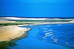 Praia de Jericoacoara no Ceará. 1993. Foto de Juca Martins.
