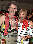 Peter and Joan Farrelly pictured at the Nautical night in aid of the Gary Kelly Cancer Support Centre in Watters of Collon.